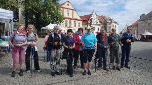 Nordic Walking Tour - Tábor 9. 5. 2015